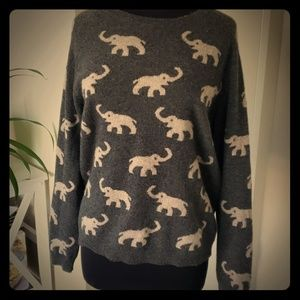 Chelsea & Theodore cashmere sweater XL